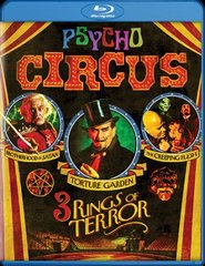 Psycho Circus: 3 Rings Of Terror Blu-Ray