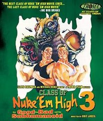 Class Of Nuke Em High 3 Blu-Ray