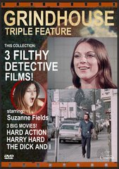 Dirty Detective Grindhouse Triple Feature DVD