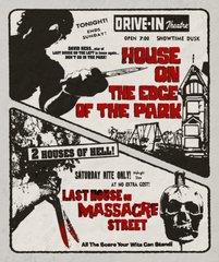 House On The Edge Of The Park / Last House On Massacre STreet Blu-Ray