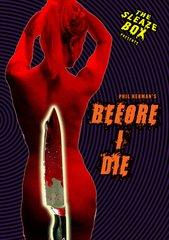 Before I Die DVD