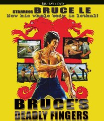 Bruce's Deadly Fingers Blu-Ray/DVD