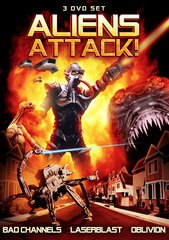 Aliens Attack (3-Pack) DVD