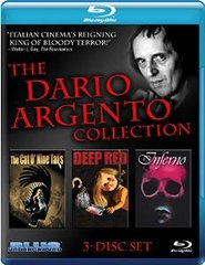 Dario Argento Collection Blu-Ray