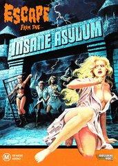 Escape From The Insane Asylum DVD