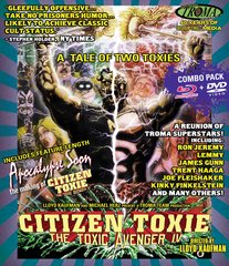 Toxic Avenger IV Blu-Ray/DVD