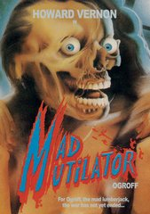 Ogroff: Mad Mutilator (Cover 2) DVD