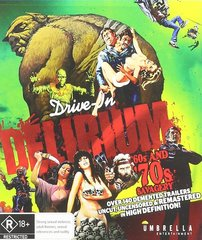 Drive In Delirium: 60's And 70's Savagery Blu-Ray (Region Free)