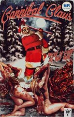 Cannibal Claus (Limited Edition - Signed and Numbered) VHS