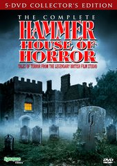 Complete Hammer House Of Horrors (5-Disc) DVD