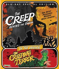 Creep Behind The Camera / The Creepng Terror Blu-Ray