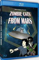 Zombie Cats From Mars Blu-Ray