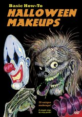 Basic How-To Halloween Makeups DVD
