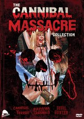 Cannibal Massacre Collection DVD
