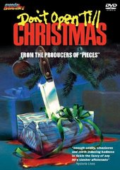Don't Open Till Christmas DVD