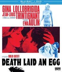 Death Laid An Egg Blu-Ray/DVD