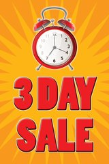3 Day Sale Mini Poster (20 pack)