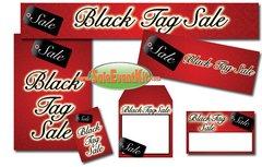 Black Tag Sale Event Kit - $150-$899