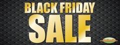 Black Friday Sale Vinyl Banner - 3' x 8'