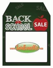 Back to School Sale Rear View Mirror Hang Tag (50 Pack)