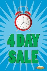 4 Day Sale Mini Poster (20 pack)