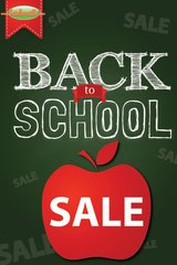 Back to School Sale Mini Poster (20 pack)
