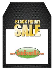 Black Friday Sale Rear View Mirror Hang Tag (50 Pack)