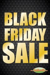 Black Friday Sale Glossy Poster