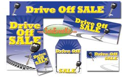 Drive Off Sale Event Kit - $150-$899