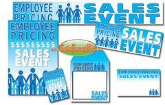 Employee Pricing Sale Event Kit - $150-$899