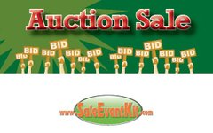 Auction Sale Employee Name Tags (40 pack)