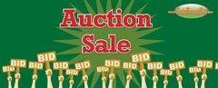 Auction Sale Vinyl Banner - 3' x 8'