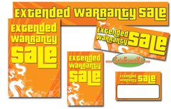 Extended Warranty Sale Event Kit - $150-$899