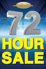 72 Hour Sale Mini Poster (20 pack)
