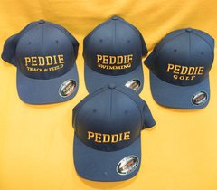 Peddie Navy Flexfit Cap