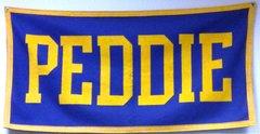 Peddie Banner