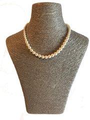 Graduated Swarovski Pearl Necklace