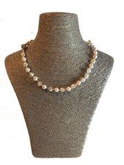 Swarovski Twisted Pearl Necklace