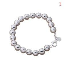 Silver Ball Bracelet 6mm