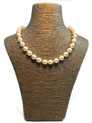 Hand Knotted Swarovski Pearl Necklace