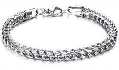 Silver Bracelet Intricate design