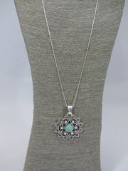 Italian Silver Pendant ( Star)