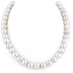 Hand Knotted Strand of Cultured Pearl Necklace