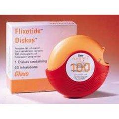 FLIXOTIDE DISK.100MCG/DOSE X1