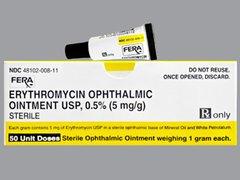 ERYTHROMYCIN OPHTHALMIC OINTMENT USP