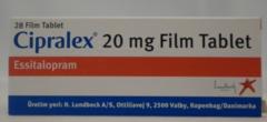 Cipralex 20 mg 28 tab