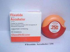 FLIXOTIDE DISK.250MCG/DOSE X1