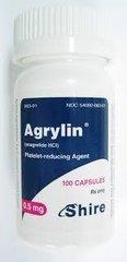 AGRYLIN 0.5MG 100 CAPS