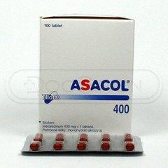 ASACOL TAB 400 MG (100)