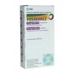 FOSAVANCE TAB 70/5600I.U. 4'S